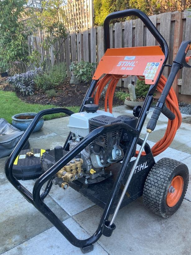stihl RB600 pressure washer