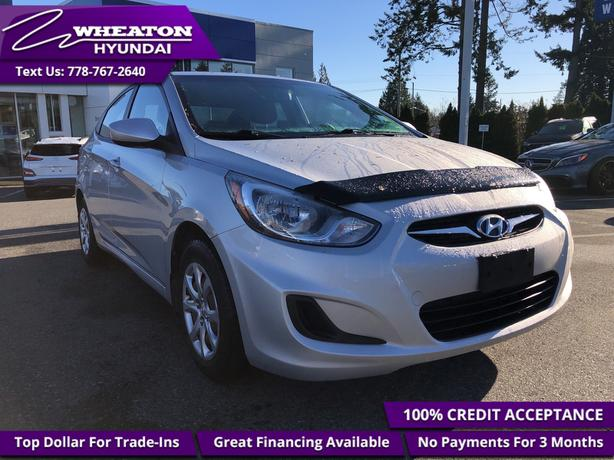 2012 Hyundai Accent GL - One owner - Local - Cruise Control