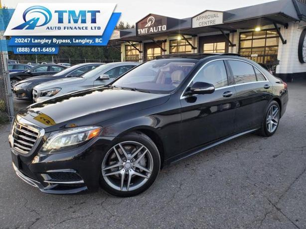 2017 Mercedes-Benz S-Class S550 4MATIC LWB, No Accidents, Easy Financing Avai
