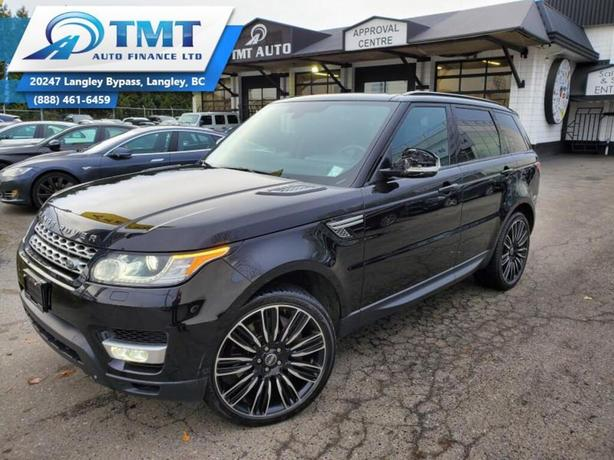 2014 Land Rover Range Rover Sport 5.0L V8 Super Charged, Extended Warranty Avail