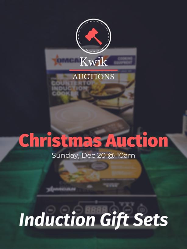 Induction Cooking Gift Sets – 3 Sizes