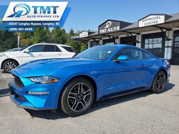 2020 Ford Mustang Fully Loaded! Eco-Boost, Low KM! Easy Financing!