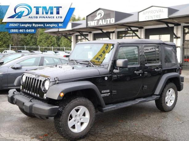 2015 Jeep WRANGLER UNLIMITED OFFROAD BEAST! Easy Financing w $0 down options