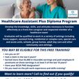 Starting January 25! Free Healthcare Assistant Training!