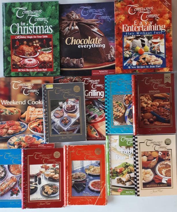 Lot of 13 Company's Coming Cookbooks [Royal Oak]