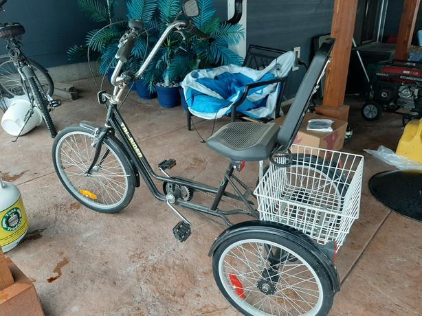 TRI - RIDER 3 WHEEL ADULT BICYCLE