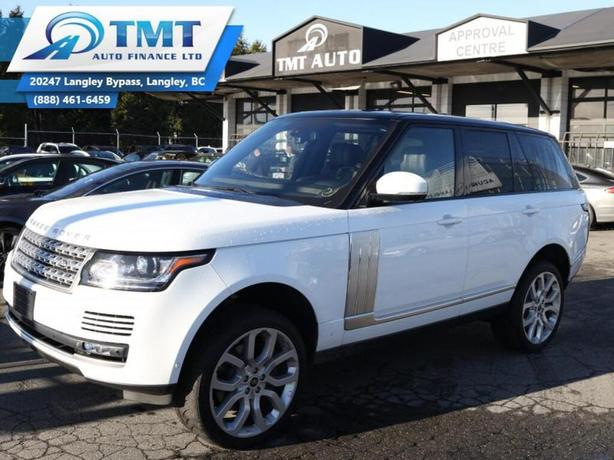 2013 Land Rover Range Rover 4WD, LOW KM, FULL LOAD, WARRANTIES AVAILIABLE!