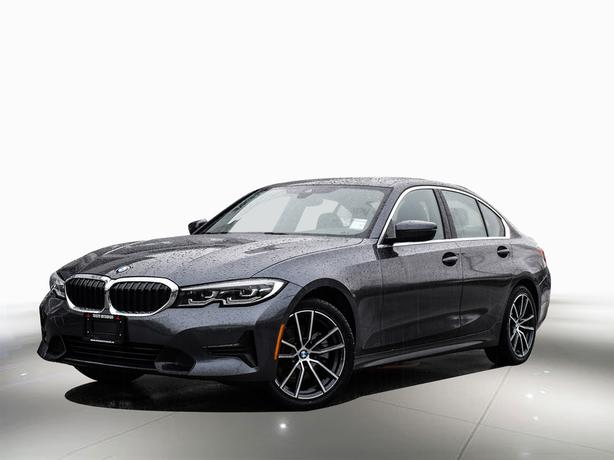 2019 BMW 3 Series Full factory warranty and free maintenance AWD