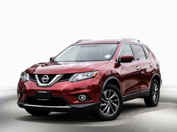 2016 Nissan Rogue Leather-Navi-Back-up Camera AWD
