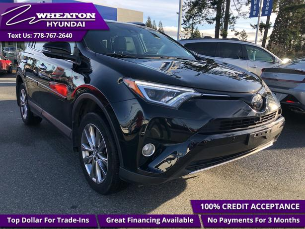 2016 Toyota RAV4 Limited - Navigation - Sunroof - $125.38 /Wk