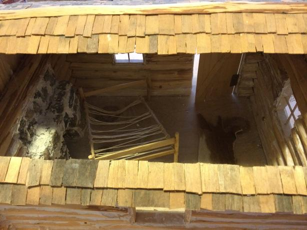 Log cabin +
