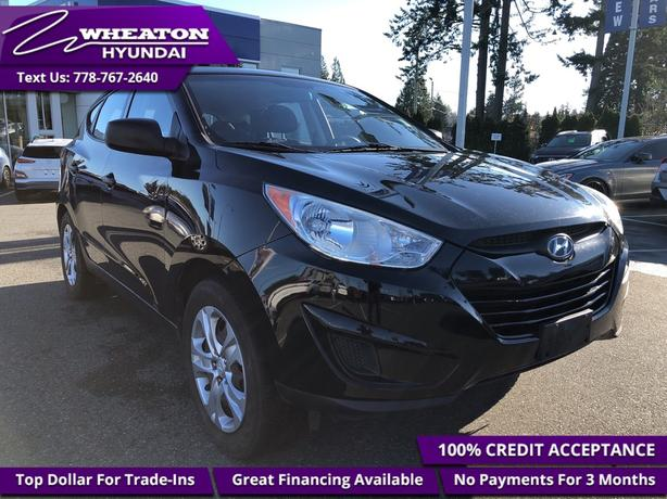 2012 Hyundai Tucson GL Heated Seats, Trade-in, One Owner, Local, Low