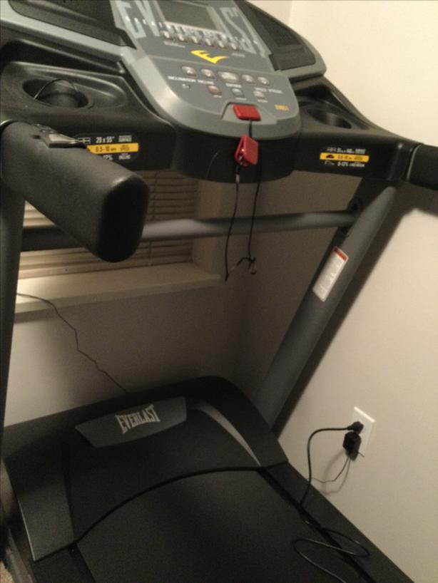 Everlast     Treadmill model number  160056066510