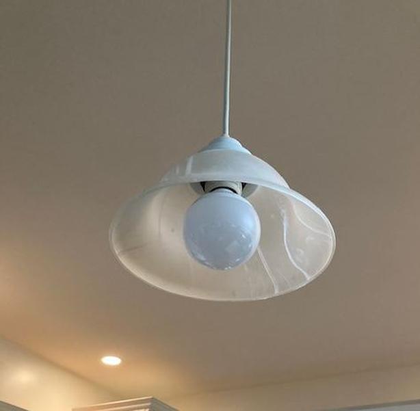 Two Pendant Lights