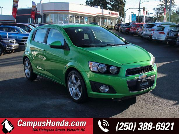 Used 2015 Chevrolet Sonic LT Auto Turbo | One Local Owner | No Accidents Hatchba