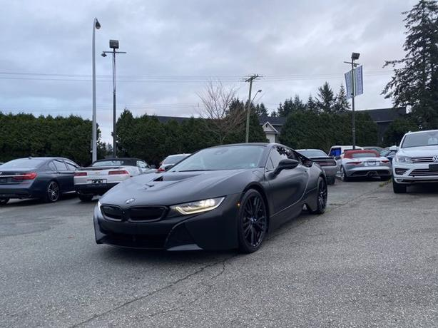 Pre-Owned 2015 BMW i8 Plug-In Hybrid AWD Supercar AWD 2D Coupe