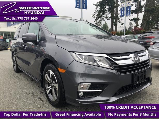 2018 Honda Odyssey EX-L NAVI EX-L, Navigation, Heated Leather, Sunro