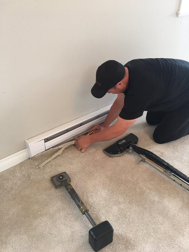 Carpet Stretching and Carpet Cleaning in ONE Appointment!