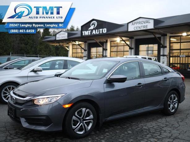 2018 Honda Civic Sedan LX, Great Commuter Vehicle,$0 Down-6 Months No Pay