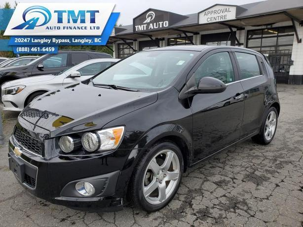 2012 Chevrolet Sonic Easy Financing! $0 Down Options, 100% Approvals