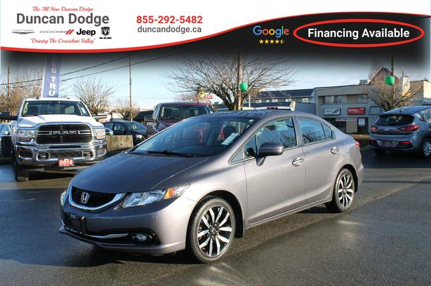 Used 2015 Honda Civic Touring *LEATHER* Sedan