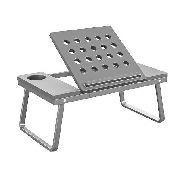COSCO Folding Lap Laptop Table Desk Tray - Grey