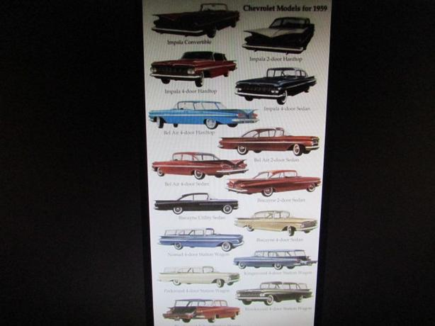 WANT TO BUY ANY MODEL OF 1959 CHEVROLET