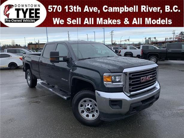 2018 GMC Sierra 3500HD 4x4 Crew Cab 8 ft. box SRW