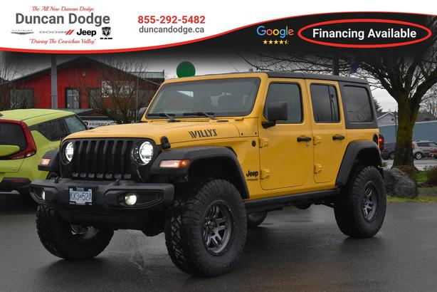 New 2021 Jeep Wrangler *DEMO* Unlimited Willys *LIFTED SUV