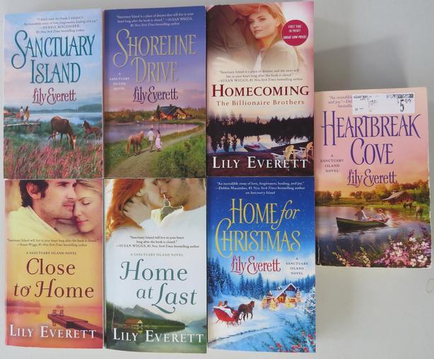 Lily Everett - Sanctuary Island Series 1-6 Complete [Royal Oak]