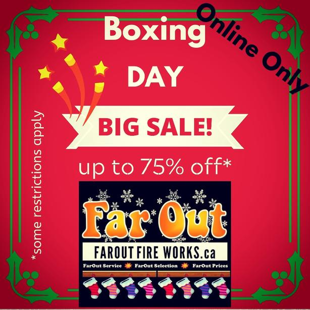 FarOut Boxing Day Sale