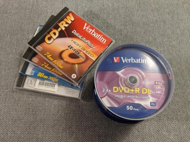 50pack of Verbatim DVD+R DL 2.4X 8.5GB 240mins