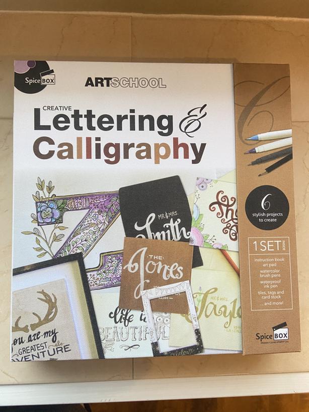 Art School: Creative Lettering & Calligraphy Kit