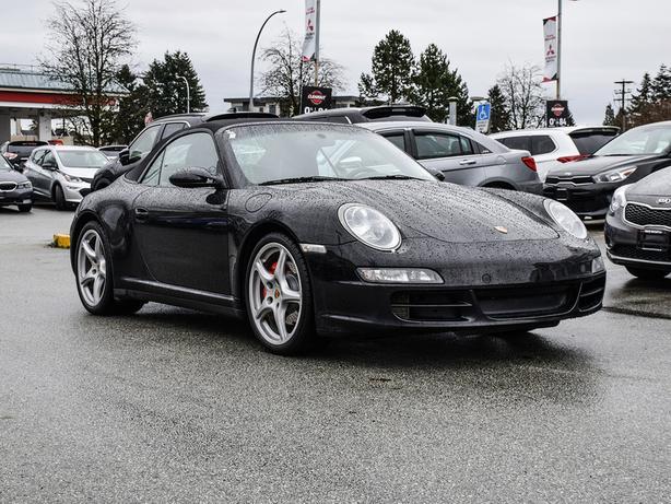2008 Porsche 911 Porsche 911 Carrera 4S Coupe - Manual AWD