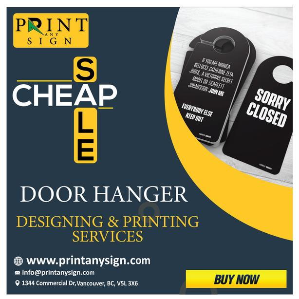 door hangers printing cheap offers