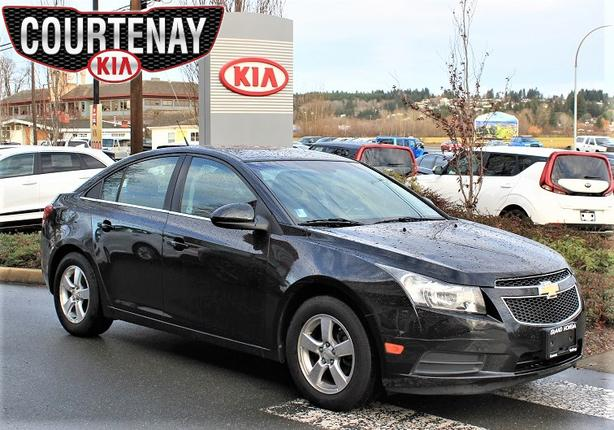 2011 CHEVROLET CRUZE LT Turbo w/Bluetooth - Black -