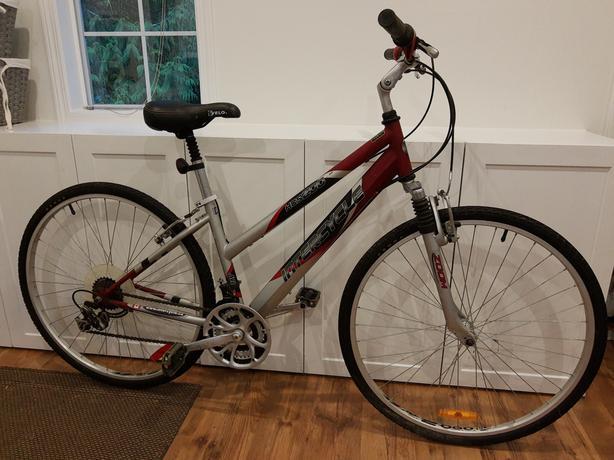 ladies hybrid bike 16 inch frame