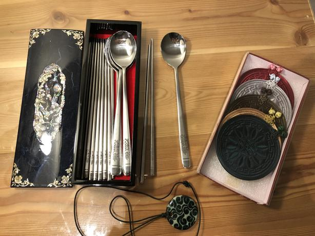 Assortment of Korean Gifts, all brand new