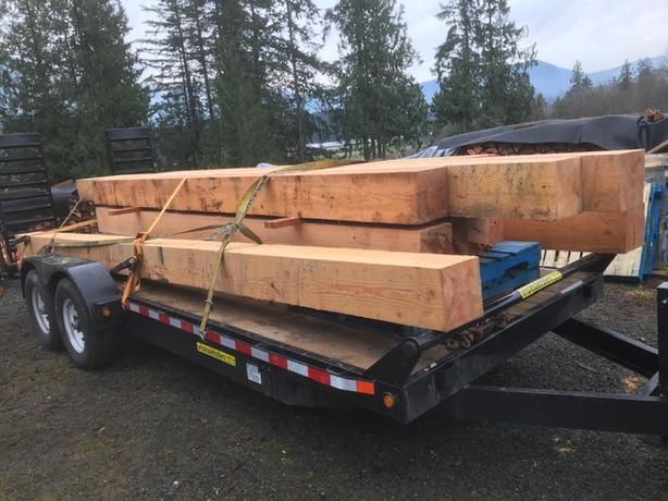Fir and Cedar Timbers/Lumber