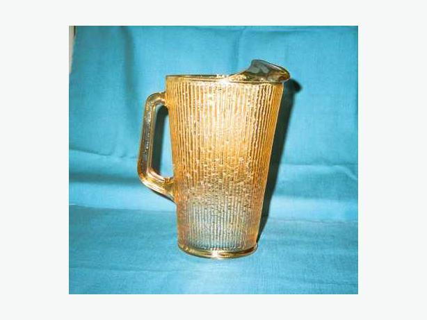 IRIDESCENT GOLD PITCHER