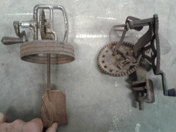 1800's apple peeler