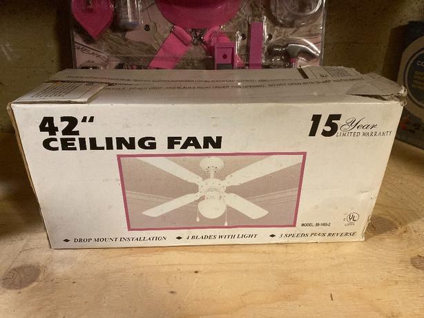 """42"""". ceiling fan"""