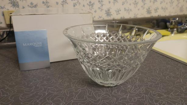 "Marquis by Waterford Shelton 8"" Crystal Bowl"