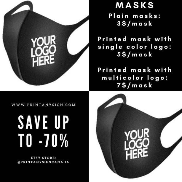 covid-19 Mask Printing Services