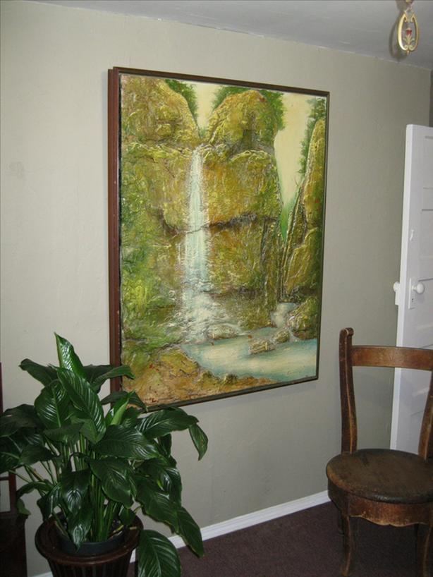3D Waterfall wall hanging