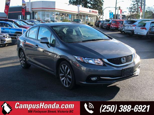 Used 2013 Honda Civic Touring   One Local Owner   No Accidents Sedan