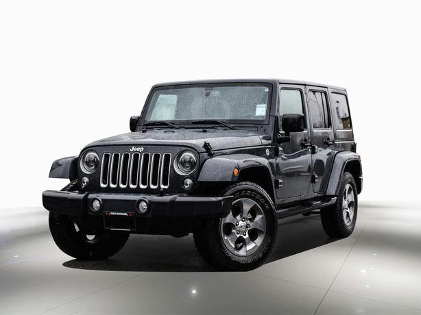 2018 Jeep Wrangler JK Unlimited Sahara 4x4 4x4
