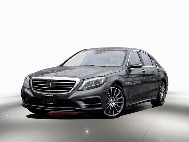 2017 Mercedes-Benz S-Class 550 LONG! ...Massage seats.. 1 owner - Local BC AWD
