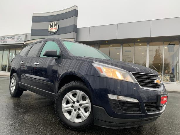 Used 2016 Chevrolet Traverse AWD LEATHER DVD ENT 8-PASSANGER REAR CAMERA SUV