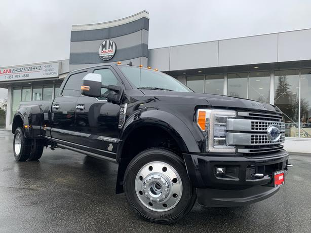 Used 2019 Ford F-450 Platinum FX4 DIESEL 4WD LOADED LIKE NEW Truck Crew Cab